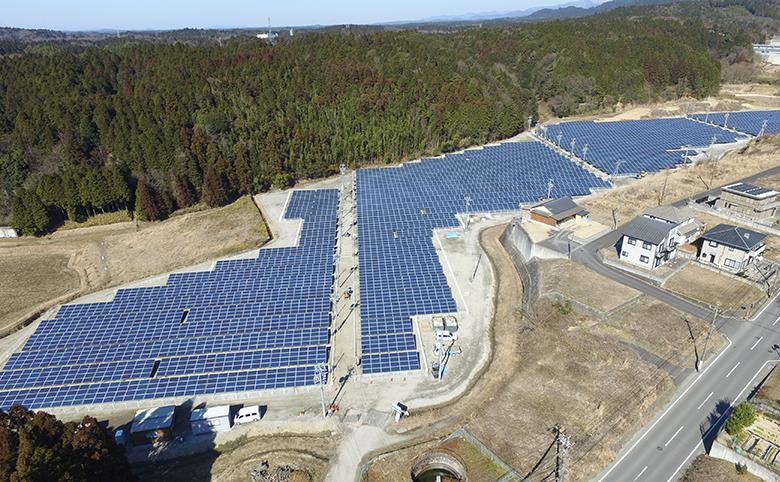 三重県伊賀市柘植町太陽光発電所