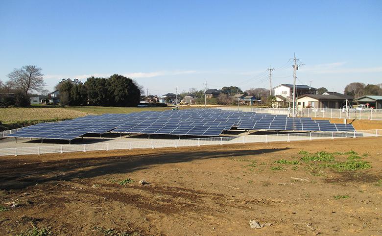 茨城太陽光発電所